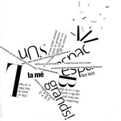 Composition typographique Typography Poster Design, Creative Typography, Typographic Poster, Graphic Design Posters, Poetry Inspiration, Poster Design Inspiration, Typography Inspiration, Posters Conception Graphique, Page Layout Design