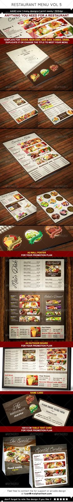 Vegetarian Restaurant Menu  Poster  Psd Templates Menu And Authors