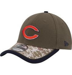 New Era Chicago Bears Salute to Service 9FORTY Adjustable Hat ...