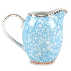 Petite Rose Blue Small Creamer Pitcher @Layla Grayce  -  small glass pitcher, kitchen.  want.    lj