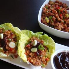 """Asian Lettuce Wraps 