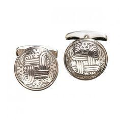 Kalevala Koru / Kalevala Jewelry / St. John's Arms Cufflinks / Hannnunvaakuna -kalvosinnapit / Material: silver or bronze