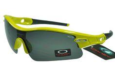 7d675790385b1 Classic Oakley Radar Glasses For sale Black Yellow Frame Black Lens
