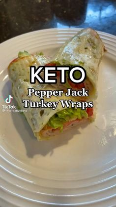 Low Carb Recipes, Diet Recipes, Cooking Recipes, Healthy Recipes, Wrap Recipes, Lunch Snacks, Healthy Snacks, Healthy Eating, Fast Recipes