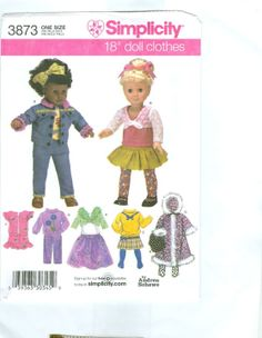 Free Copy of Pattern - Simplicity 3873