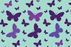Papel deco: Mariposas