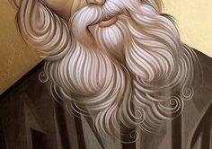 Religious Icons, Religious Art, Best Icons, Cartoon Man, Byzantine Icons, Art Icon, Orthodox Icons, Vintage Hairstyles, Art Techniques