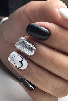 # for # gel nails # ideas # amazing 47 amazing gel nail art ideas 2019 47 amazing . - Nail ideas - Derek # for # gel nails # ideas # amazing 47 amazing gel nail art ideas 2019 47 amazing . Sophisticated Nails, Stylish Nails, Classy Nails, Best Acrylic Nails, Acrylic Nail Designs, Shellac Nail Designs, Nails Design, Heart Nail Designs, Best Nail Art