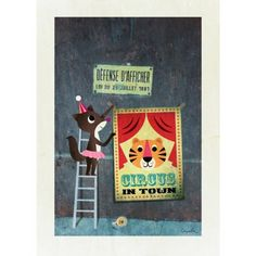 Circus Poster from Rose and Grey