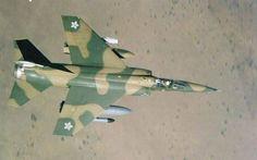 Mirage F1CZ of SAAF.