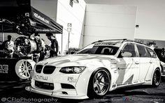 BMW E91 3 series Touring b&w