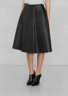 & Other Stories | Leather Skirt