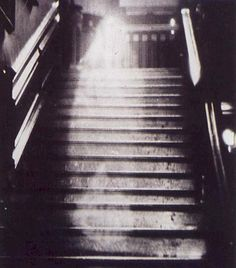 The Brown Lady of Raynham Hall - said to be the most authentic example of spirit photography. She's haunted Raynham Hall since her death in 1726.