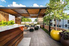 Portfolio of Chicago commercial interiors photographer Chris Bradley. Pergola Designs, Deck Design, Garden Design, Decks, Gazebo, Landscape Architecture Design, Us Real Estate, Landscape Services, Outdoor Living