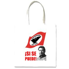 Cesar Chavez Tote Bag