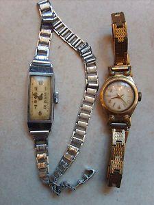 Lot de 2 anciennes montres mécaniques Vedette et Lucta rétro vintage horlogerie | eBay