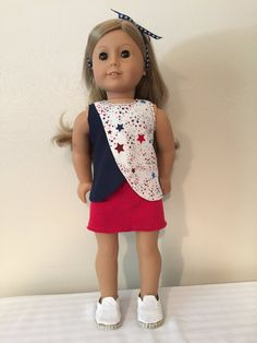 Hey, I found this really awesome Etsy listing at https://www.etsy.com/listing/462397665/american-made-18-girl-doll-clothing-red