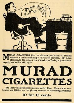 Murad Turkish Cigarette
