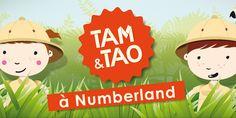 Application Montessori pour découvrir les chiffres: Numberland