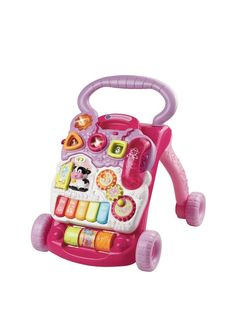 VTech First Steps Baby Walker - Pink | littlewoods.com