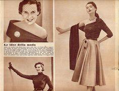 annabella - 14 ott 1951 - le idee della moda