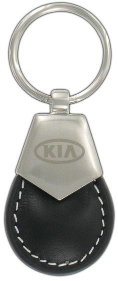 Kia Soul Badge Leather Keyring Handmade Laser Cut Gift