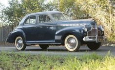 1941 Chevrolet Deluxe Sports Sedan