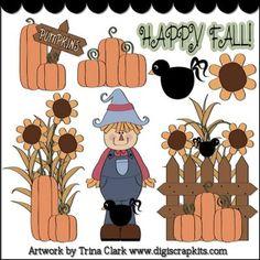 Fall Harvest 1 Clip Art