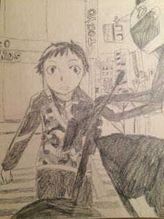 Durarara- fan art by me! Durarara, Book Show, My Arts, Thankful, Comic Books, Author, Fan Art, Comics, Anime
