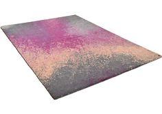 Tom Tailor Happy - Colour Splash Pink Rugs | Modern Rugs