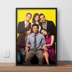 Poster 'How I Met Your Mother'c/ moldura