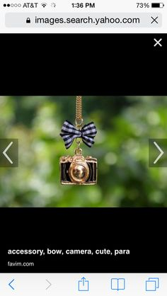 Camera with bow