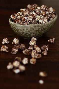 Chocolate Cinnamon Popcorn!