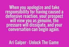 Check out my new PixTeller design! :: When you apologize and take responsibility for having caused a...