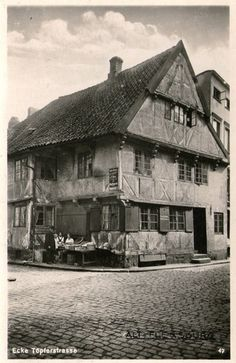 Germany. Flensburg, Witch's House. 1950. Creepy, Scary, Celtic Festival, Witch House, Samhain, Witches, Denmark, Abandoned, Places To Go