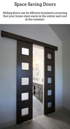 Sliding Closet Doors   Contemporary Doors   In Wall Sliding Door 20180928