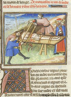 Bible Historiale, MS M.394 fol. 172r - Images from Medieval and Renaissance Manuscripts - The Morgan Library & Museum