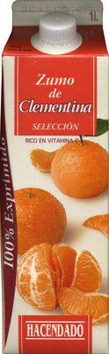 """Zumo de clementina exprimido refrigerado """"Hacendado"""" - Producto"""