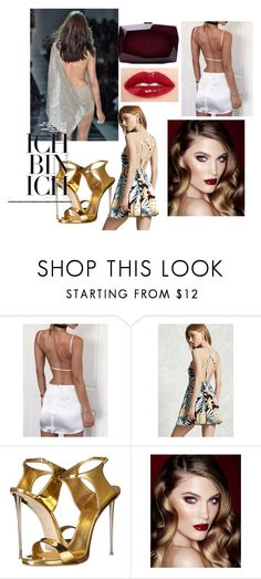 My Style by cecilia-beatz on Polyvore featuring WithChic, Forever 21, Giuseppe Zanotti, Monique Lhuillier, Charlotte Tilbury and Alexandre Vauthier