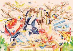 Hetalia (ヘタリア) - Japan (日本) & Fem!Japan -「春を待つ」/「にと」のイラスト [pixiv]