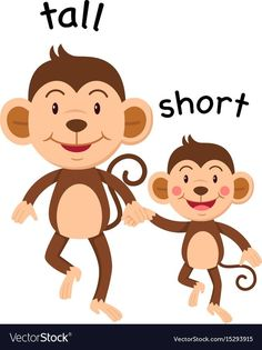 short activities for young students to begin learning math skills! Learning English For Kids, English Worksheets For Kids, English Lessons For Kids, English Activities, Preschool Worksheets, Teaching English, Preschool Activities, Kids Learning, Opposites Preschool