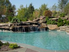 Natural Pool and Waterfall