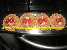 Resultado de imagem para trabalhos de croche no botão de fogão