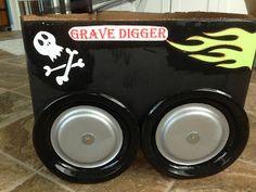 Monster Truck Party Part 3 - DIY Monster Truck Costumes