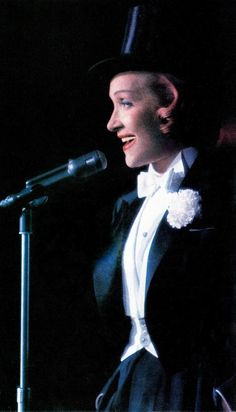 MARLENE DIETRICH late 1950's. April in Paris Ball New York. Photo by Slim Aarons…
