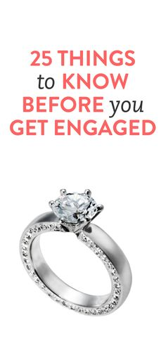 25 things to know before you get engaged