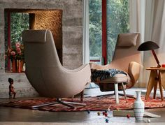 Vitra Repos Lounge Chair (Fabric)