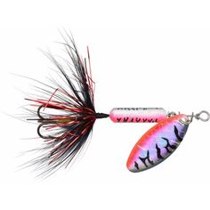 Worden's Rooster Tail, 1/8 oz, Tinsel Watermelon, Multicolor