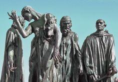 Les bourgeois de calais. Rodin