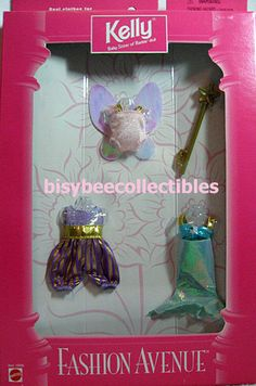 ~1998 Barbie Fashion Avenue KELLY Costumes ~ 20618 ~ #Mattel
